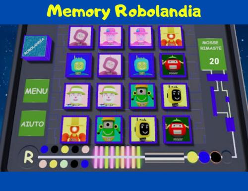 Memory Robolandia – App per Android