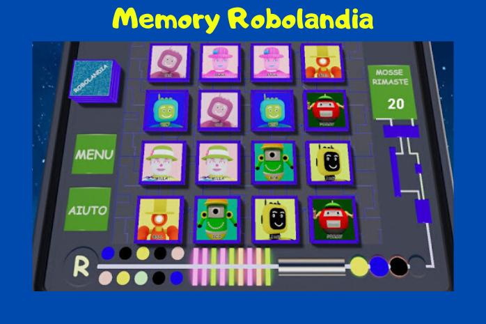 Memory Robolandia - App per Android